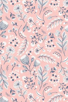 Wallpaper Backgrounds Fabric Iphone Wallpapers Pattern Cute Floral