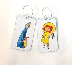 Madeline earrings ($20). | 35 Impossibly Clever Pieces Of Jewelry Inspired By Books