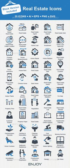 Real Estate Icons by Bismillah_bd Modern Real Estate icons set. Perfect for use in a wide range of Real Estate & Homescapes business like: Real Estate Agency, Homes Real Estate Icons, Real Estate Career, Global Real Estate, Real Estate Branding, Real Estate Logo, Real Estate Business, Real Estate Agency, Real Estate Broker, Real Estate Sales