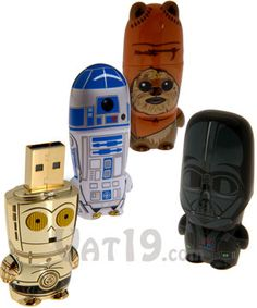USB de La Guerra de las Galaxias   -   Star Wars USB Flash Drives