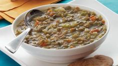 Lentils are a great source of resistant starch and fiber. Double or triple this recipe and freeze leftovers in individual servings.