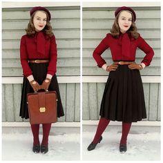 1,150 отметок «Нравится», 46 комментариев — Liida Ryyttäri (@missliidainez) в Instagram: «Outfit from Monday when we still had snow 😢 #vintage #vintagefashion #vintagestyle #vintagehair…»