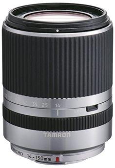 Tamron 14-150 mm F/3.5-5.8 Di III Objektiv für Micro Four Thirds silber - http://kameras-kaufen.de/tamron/tamron-14-150-mm-f-3-5-5-8-di-iii-objektiv-fuer-micro