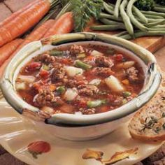 Savory Winter Soup Recipe | Holiday Cottage