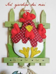 1 million+ Stunning Free Images to Use Anywhere Farm Crafts, Country Crafts, Easter Crafts, Wood Crafts, Craft Projects, Sewing Projects, Projects To Try, Felt Ornaments, Christmas Ornaments