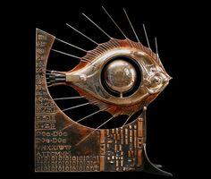As Esculturas Steampunk de Pierre Matter - Design Innova
