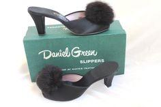 Vintage Boudoir Slippers