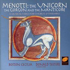 Gian Carlo Menotti - Menotti: The Unicorn, the Gorgon & the Manticore, Red