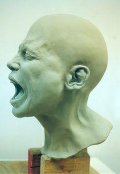 'Scream' side view by dreamfloatingby.deviantart.com on @deviantART
