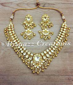 Self-Conscious Handmade Floret Jewelery Pearl Pink Yellow Flower Jewelery Set For Women Girls Engagement & Wedding