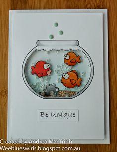 Whimsie Doodles Digital Stamps: Be Unique