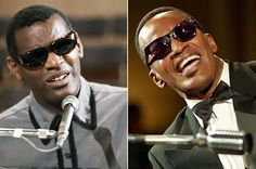 Ray   Ray Charles at the piano in 1964   Jamie Foxx as Ray Charles, 2004