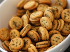 Herbed Ritz Crackers Recipe (use 2 10.5 oz. boxes cheese Ritz Bits.)