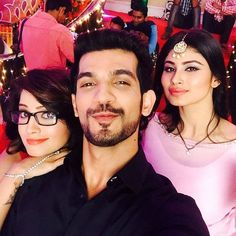 Naagin TV Serial Behind the Scenes of Sets Adaa Khan, Arjun Bijlani and ...
