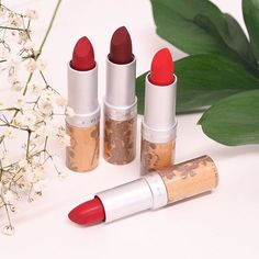 NEW Matte lipsticks from Couleur Caramel - Natural, organic ingredients https://www.gloworganicbrighton.co.uk/collections/couleur-caramel/products/couleur-caramel-lipstick
