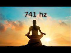 741 hz Removes Toxins and Negativity, Cleanse Aura, Spiritual Awakening, Tibetan Bowls Reiki Music, Yoga Music, Chakra Meditation, Meditation Music, Mindfulness Meditation, Tibetan Bowls, Solfeggio Frequencies, Reiki Treatment, Music Heals