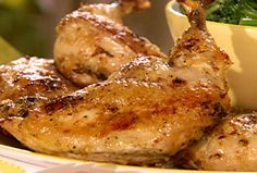 Lemon-Herb Butter-Basted Chicken from FoodNetwork.com