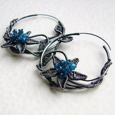 Fanaberia - biżuteria autorska: Błękitnookie