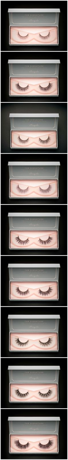 Which style do you like best? Try out the Ultimate Lash Guide : http://esqido.com