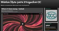 Música con derechos libres para proyectos.-