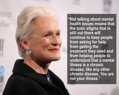 Glenn Close talked to BuzzFeed about the importance of talking about mental…