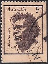 Australia---5c---Albert-Namatjira--1968 Stamp Book, Australian Artists, Postage Stamps, Sydney, Coins, In This Moment, Landscape, World, Scenery