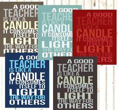 Teacher Gift Unique Typography Print Word Art by PrintablePrints Teacher Christmas Gifts, Teacher Gifts, Christmas Ideas, Religious Poems, Printable Quotes, Typography Prints, Best Teacher, Teacher Appreciation, Word Art