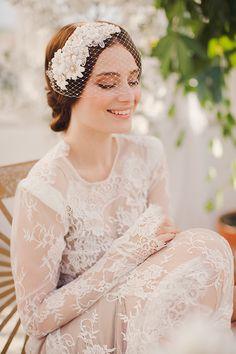 Jannie Baltzer Headpieces Arrive at Miss Bride Wedding Shop
