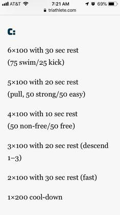 Masters Swim Workouts, Swimming, Math, Swim, Math Resources, Mathematics
