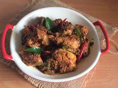 Shobha's Food Mazaa: SPICY CHICKEN FRY / SPICY CHICKEN CHUKKA