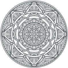 Krita Circles Mandala 3 by WelshPixie (print image)