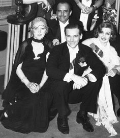 Marion Davies and Douglas Fairbanks Jr. & Sr.