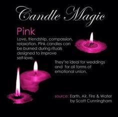 °Pink ~ Candle Magic