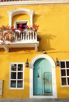 Balkony,Cartagena...by Jaimie Motsenbocker
