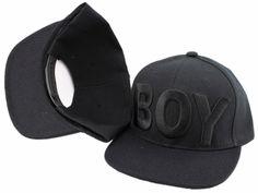 """boy"" snapback hat   Product Name: Boy London Snapback Black Hats Adjustable Caps"