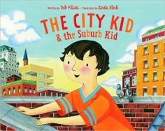 The City Kid & the Suburb Kid, written by Deb Pilutti, illustrated by Linda Bleck Social Studies Communities, Communities Unit, Teaching Social Studies, Student Teaching, Teaching Ideas, My Community, Community Helpers, 2nd Grade Geography, Writing Traits