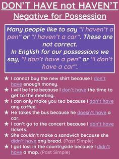 Visit the post for more. Advanced English Grammar, English Grammar Rules, Teaching English Grammar, English Writing Skills, English Language Learners, Spanish Language Learning, English Lessons, Learning English, English Time