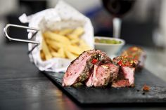 Argentine Steakhouse in the heart of Amsterdam. grass-fed, free-roaming Aberdeen Angus beef straight from the Pampas, wet-aged for 30 days. Angus Beef, Car Parking, Yummy Treats, Food Photography, Salads, Chips, Tasty, Lunch, Restaurant