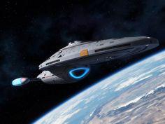 USS Voyager by ~thefirstfleet on deviantART