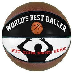 World's Best Baller Basketball - tap to personalize and get yours #Basketball #add #your #photo, #message, #personalize,