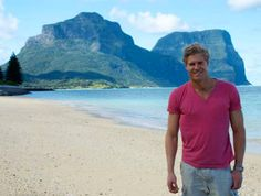 Dr. Chris Brown, vet and TV celebrity from Australia on Lord Howe Island