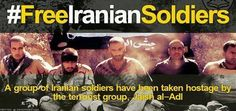 7h  Iranians tweet in support of five kidnapped Iranian soldiers  … #FreeIranianSoldiers ، #ماباهمیم
