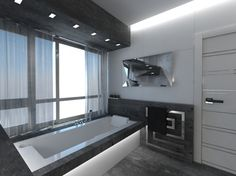 Bathroom:Top Innovative Bath Room Design Ideas 2014 Black And White Innovative Bathtub Design Innovative Bathroom Furniture : Bathtub Design. Classic Grey Bathrooms, Small Grey Bathrooms, Luxury Master Bathrooms, Bathroom Design Luxury, Amazing Bathrooms, Bath Design, Grey Bathroom Interior, Man Bathroom, Bathroom Ideas