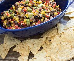 Blackbean, Corn & Avocado Dip   Skinny Mom   Where Moms Get The Skinny On Healthy Living