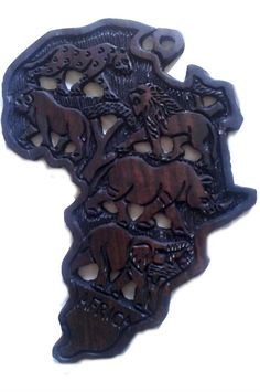 Africa, Hand Carved, Big 5, Wall Decor