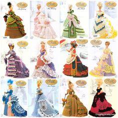 Set 12 Die viktorianische Lady Centennial Collection von CHpatterns