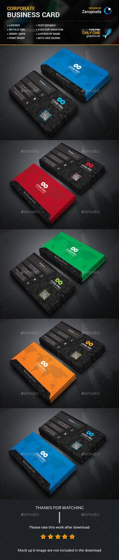 Business Card — Photoshop PSD #flyer #web • Available here → https://graphicriver.net/item/business-card-/16340829?ref=pxcr