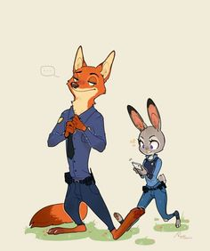 I hate this! Nick would never do that to Judy.