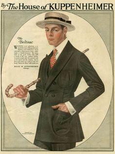 Image result for men's attire 1910
