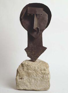 """Julio González - Tête dite «le lapin» (Head Called """"The Rabbit"""")"""